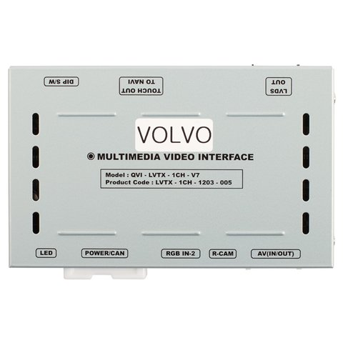 Видеоинтерфейс для Volvo S60, S80, V40, XC60 2010-2014 г.в. Превью 16