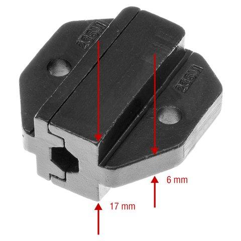 Матрица для кримпера Pro'sKit CP-236DM6 - Просмотр 3