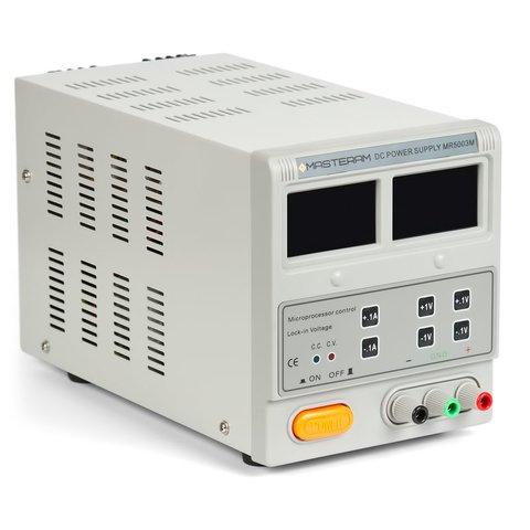 Лабораторний блок живлення Masteram MR5003M Прев'ю 1