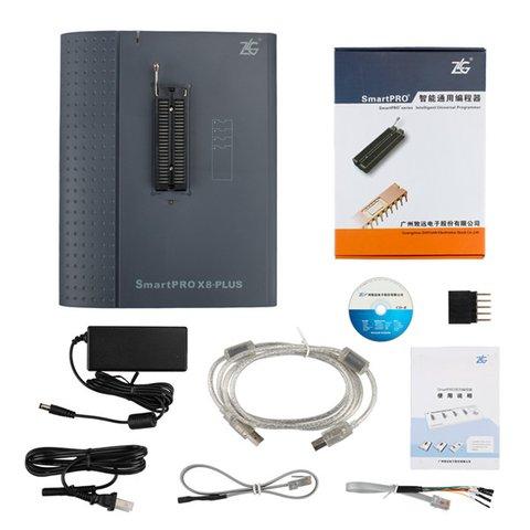 Універcальний USB програматор ZLG SmartPRO X8-PLUS Прев'ю 7