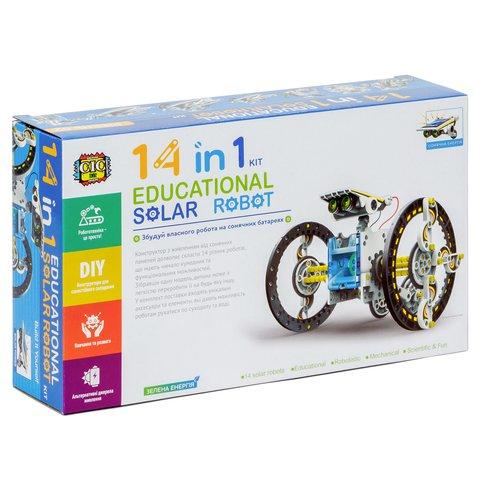 Робот 14 в 1 на солнечных батареях, STEM-конструктор CIC 21-615 Превью 13