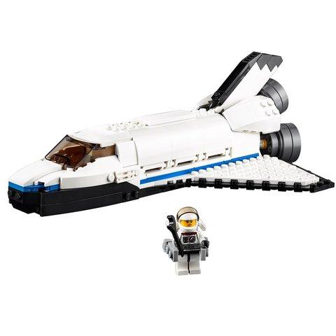 Конструктор LEGO Creator Космический исследовательский шаттл 31066 Превью 5