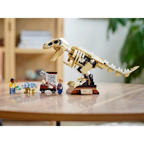Конструктор LEGO Jurassic World Виставковий скелет тиранозавра 76940 Прев'ю 12